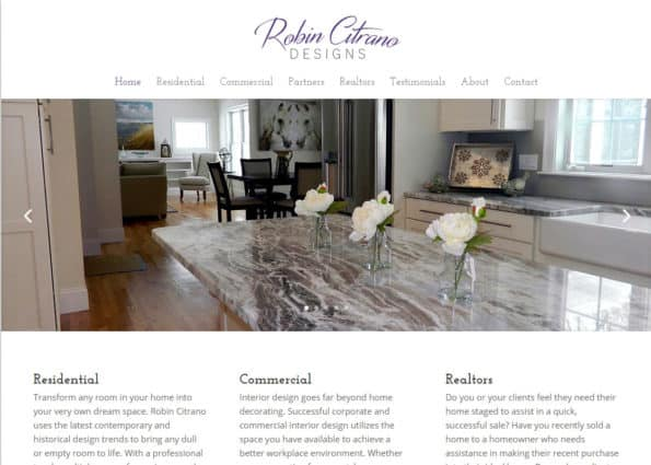 Robin Citrano Designs on Divi Gallery