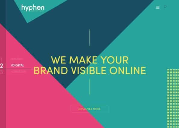 Hyphen on Divi Gallery