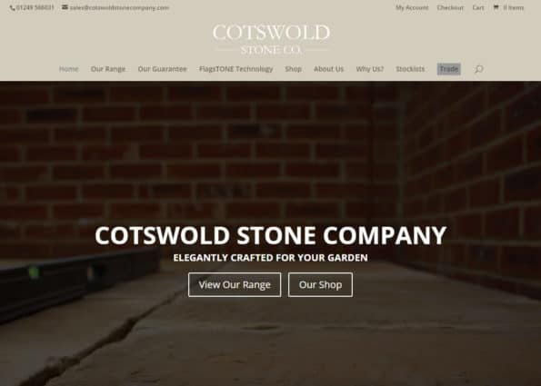 Cotswold Stone Co. on Divi Gallery