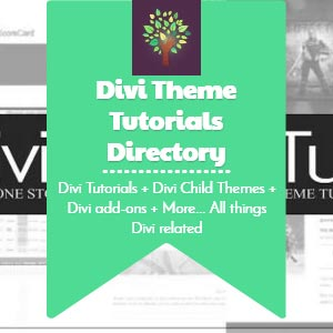 Divi Theme Tutorials