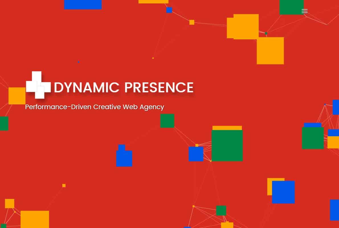 Dynamic Presence Divi Theme Example