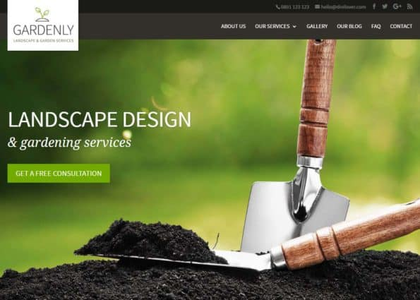 Gardenly on Divi Gallery
