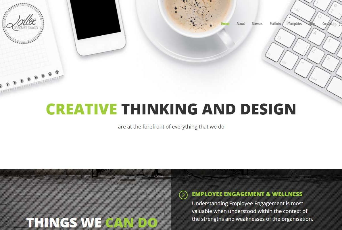 Lolla Creative Studio Divi Theme Example