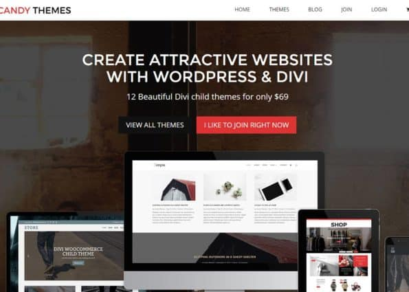 Candy Themes on Divi Gallery