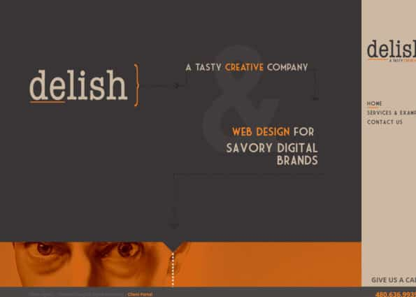 Delish Agency on Divi Gallery