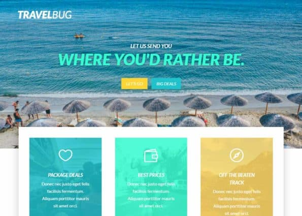Travel Bug on Divi Gallery