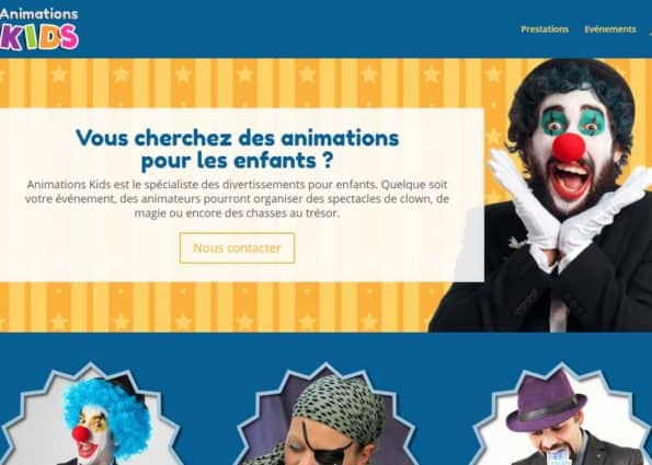 Animations Kids on Divi Gallery