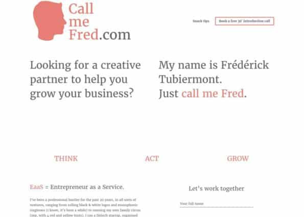 Call Me Fred on Divi Gallery