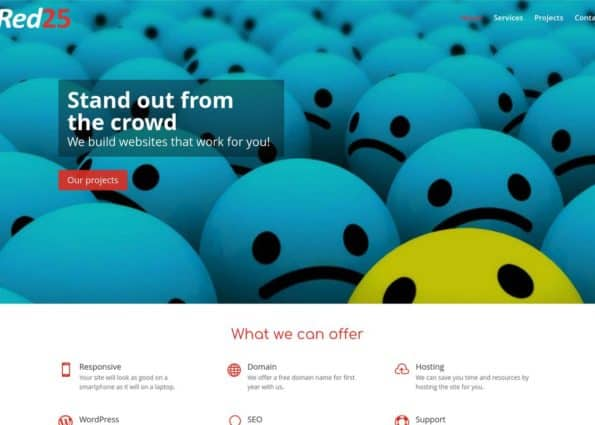 Red25 on Divi Gallery
