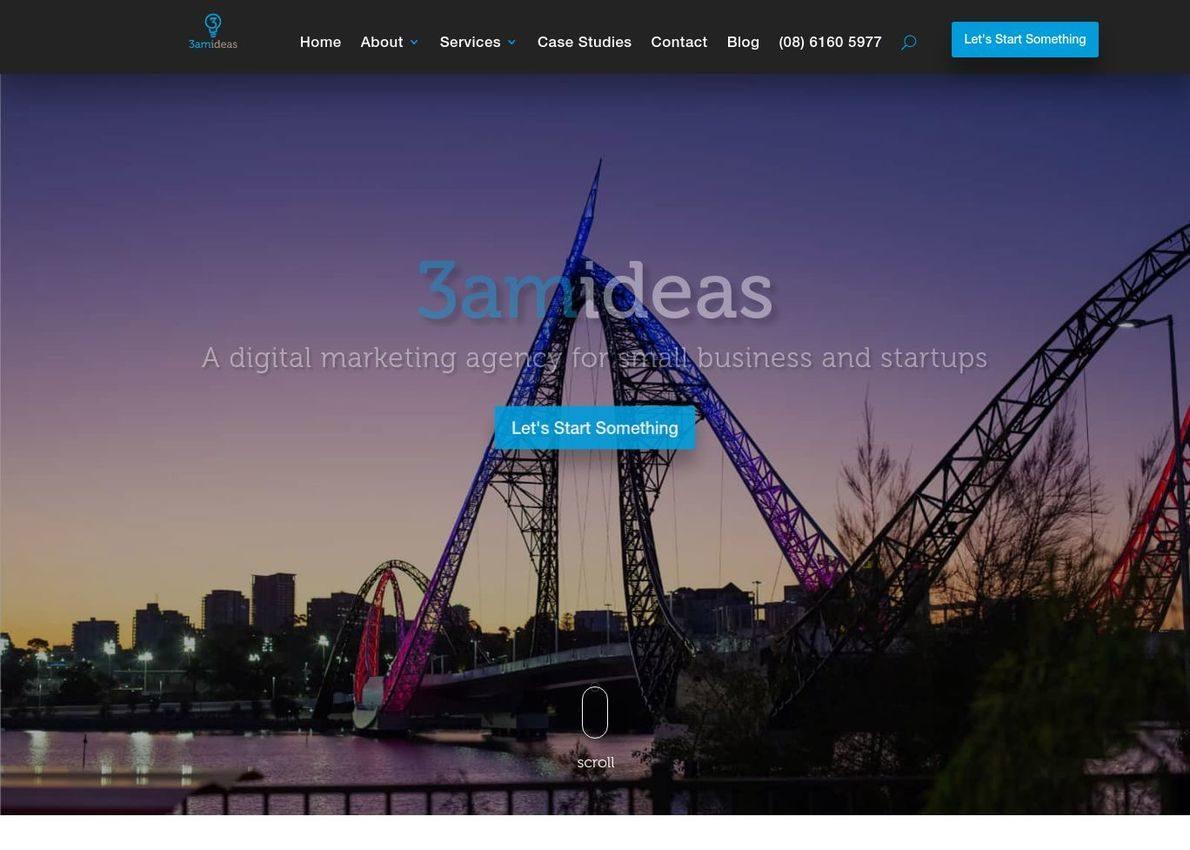 3am Ideas Australia Divi Theme Example
