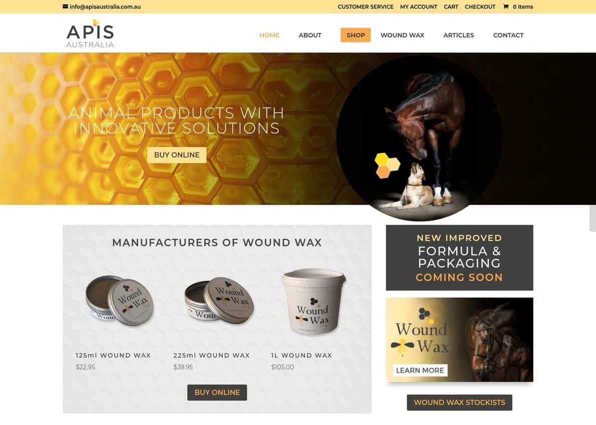 APIS Australia Divi Theme Example