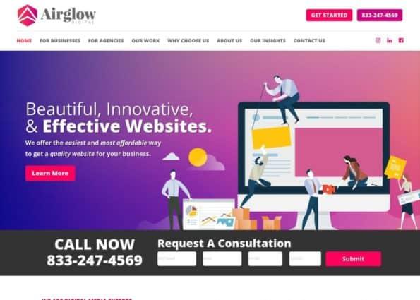Airglow Digital on Divi Gallery