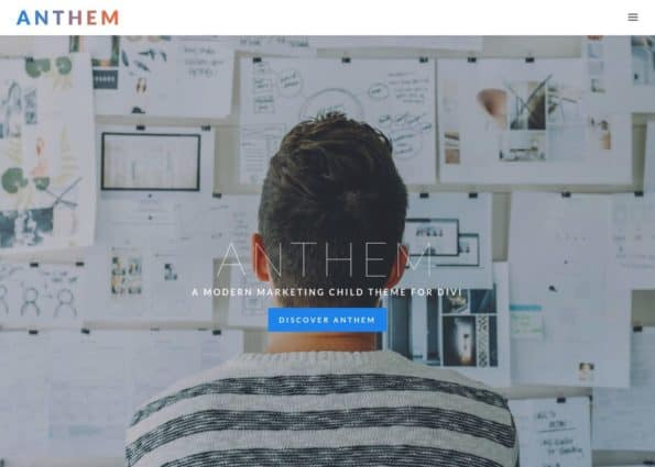 Anthem on Divi Gallery