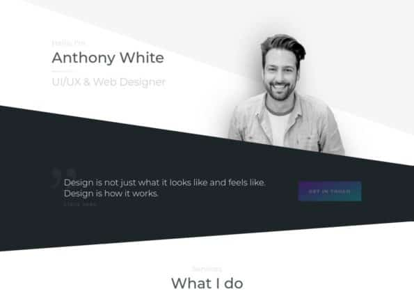 Anthony on Divi Gallery