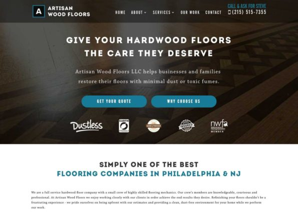 Artisan Wood Floors LLC on Divi Gallery