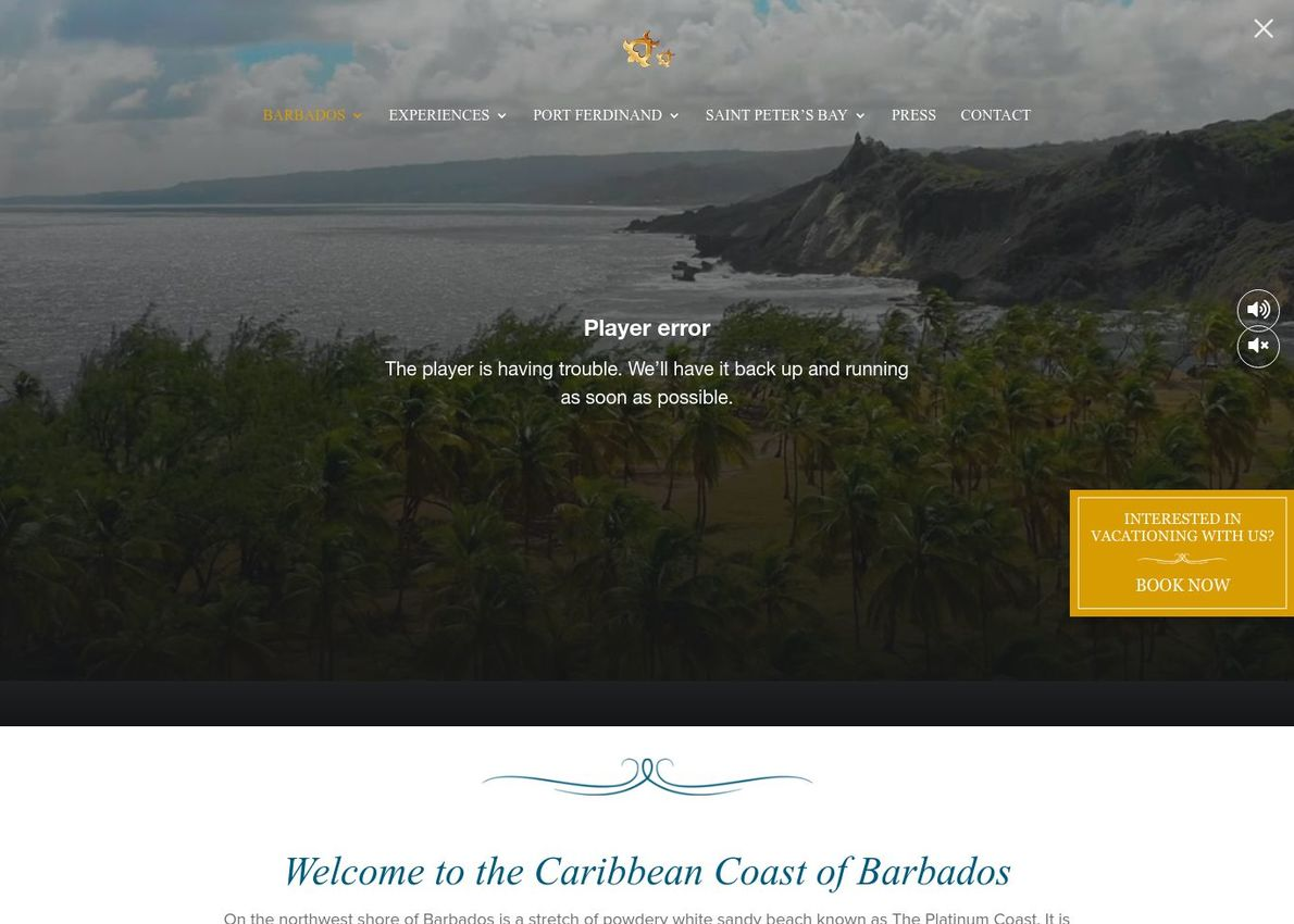 Barbados Luxury Residences / St. Peter's Bay / Port Ferdinand Divi Theme Example