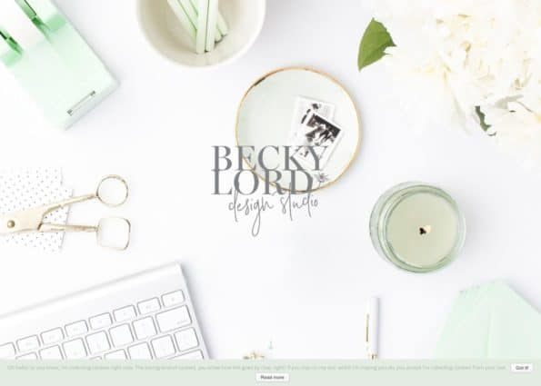 Becky Lord Design on Divi Gallery