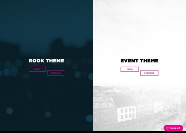 Book+Event Theme Bundle on Divi Gallery