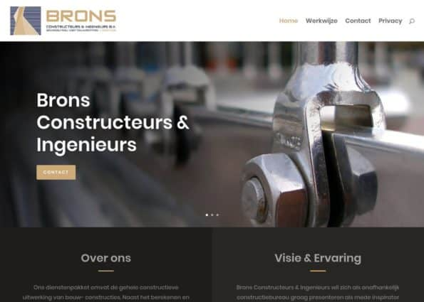 Brons bv  Constructeurs & Ingenieurs on Divi Gallery