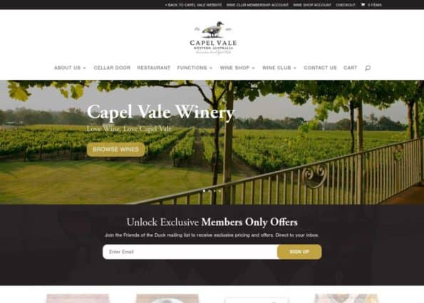 Capel Vale on Divi Gallery