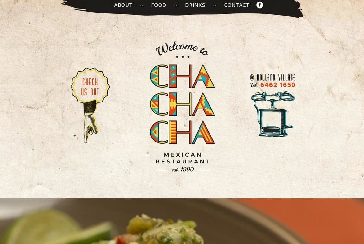 Chachacha Divi Theme Example