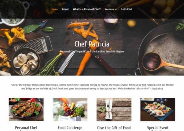 Chef Patricia on Divi Gallery