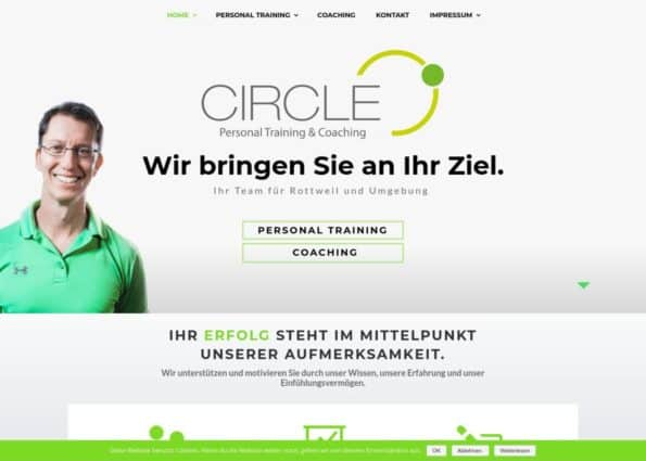 Circle Personal Training & Coaching on Divi Gallery