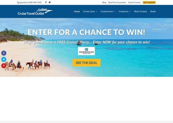 Cruise Travel Outlet on Divi Gallery