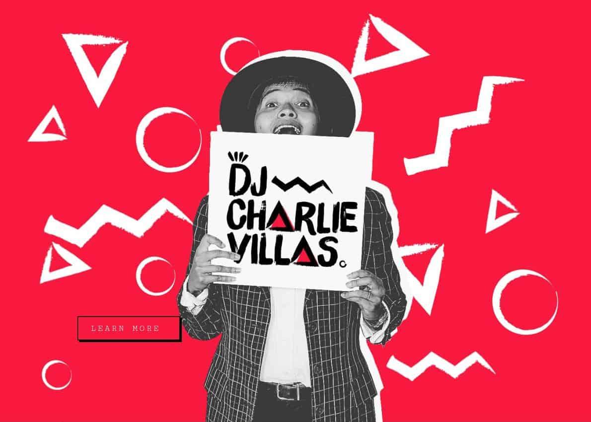 DJ Charlie Villas Divi Theme Example