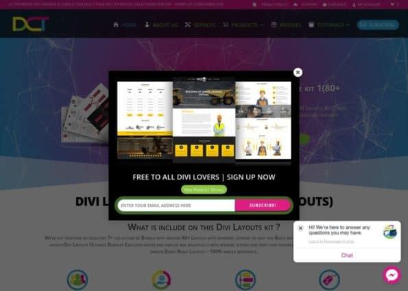 Divi-childthemes.com on Divi Gallery