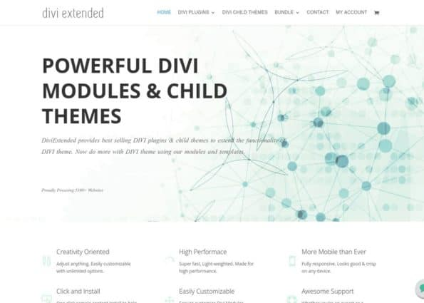 Divi Extended on Divi Gallery