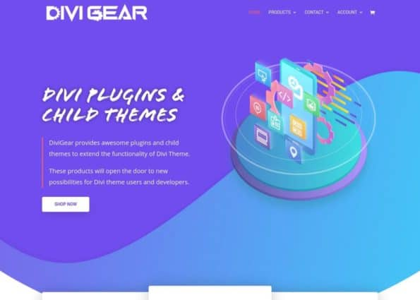 DiviGear: Divi Plugins & Divi Child Theme on Divi Gallery