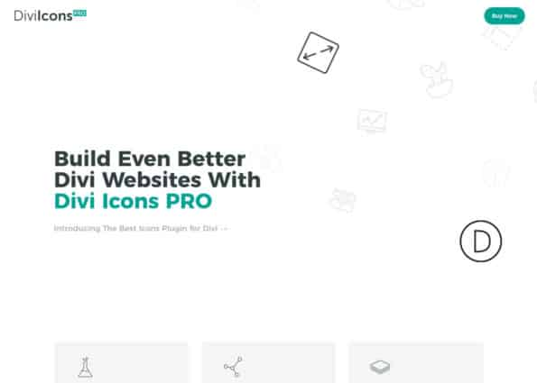 Divi Icons PRO on Divi Gallery
