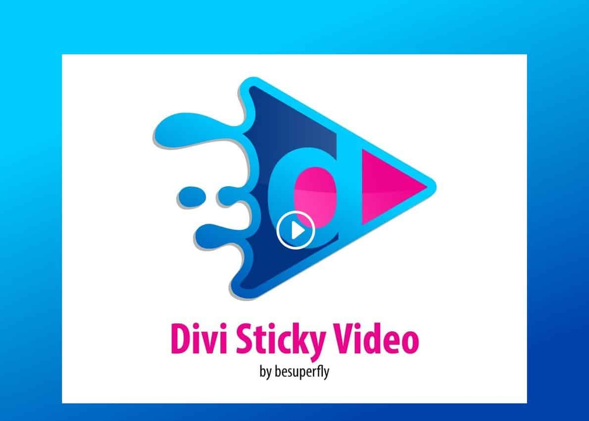 Divi Sticky Video Divi Theme Example