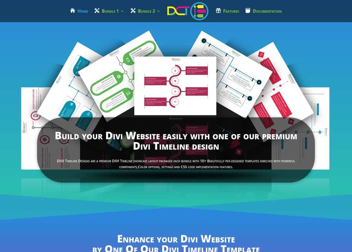 Divi Timeline Layouts Divi Theme Example
