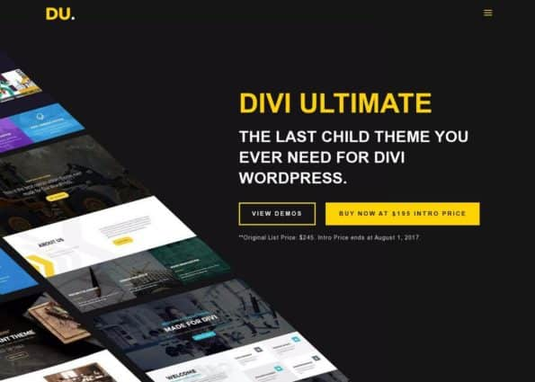 Divi Ultimate on Divi Gallery