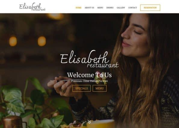 Elisabeth Restaurant on Divi Gallery