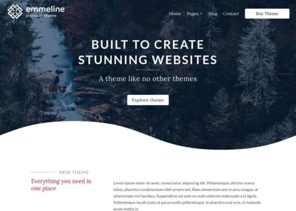 Emmeline Theme on Divi Gallery