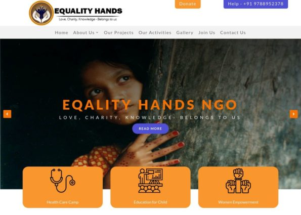 Equality light on Divi Gallery