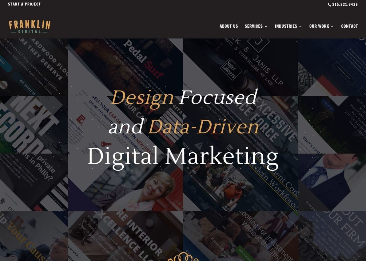Franklin Digital Divi Theme Example