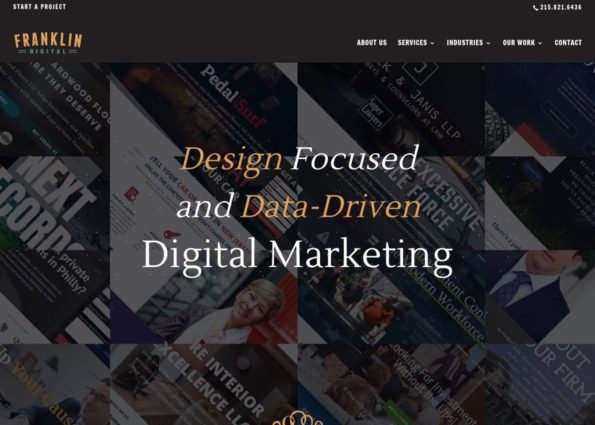 Franklin Digital on Divi Gallery