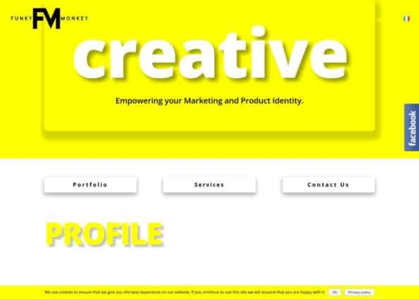 Funky Monkey Creative Branding and Designs on Divi Gallery