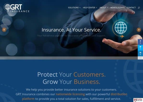 GRT Insurance on Divi Gallery