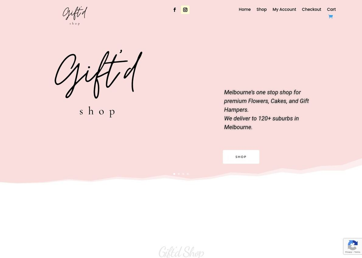 Giftd Shop Divi Theme Example