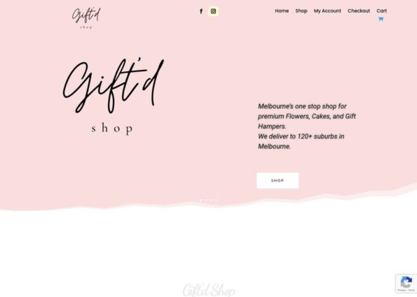 Giftd Shop on Divi Gallery