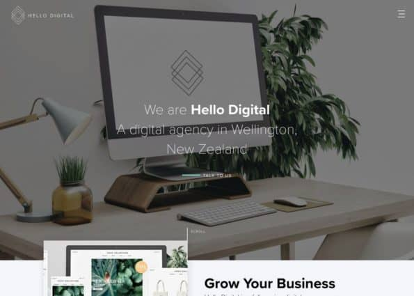 Hello Digital on Divi Gallery