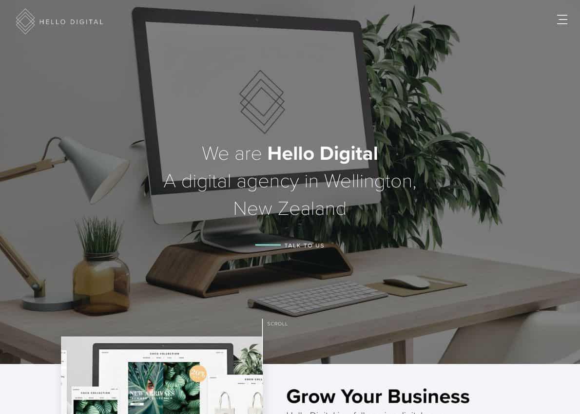 Hello Digital Divi Theme Example
