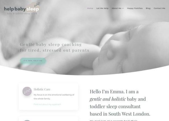 Help Baby Sleep on Divi Gallery