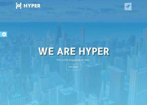 Hyper on Divi Gallery