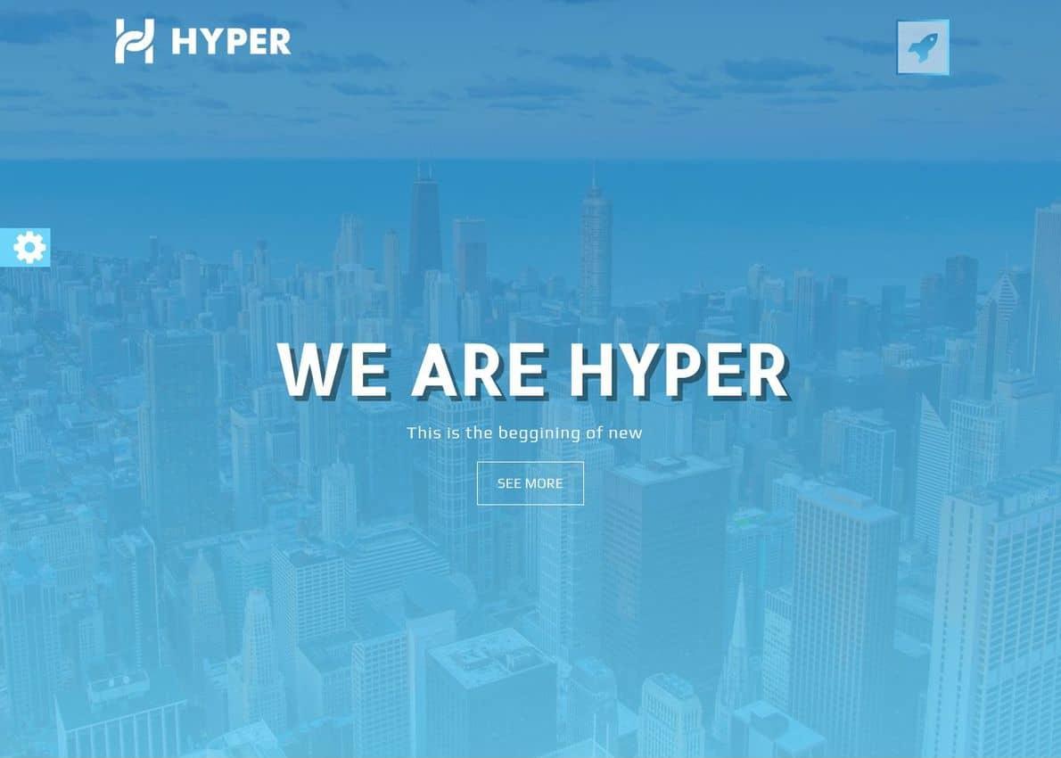 Hyper Divi Theme Example